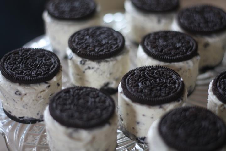 Oreo mini ice creamcakes